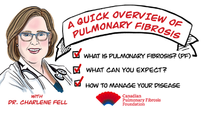 So You've Been Diagnosed with Pulmonary Fibrosis…What's Next? – Dr. Charlene Fell